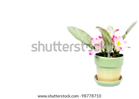 Artificial flower - stock photo