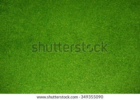 artificial green grass - stock photo