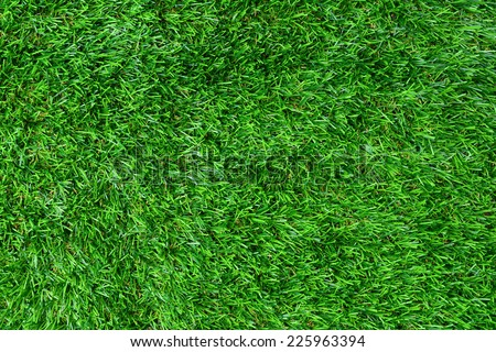 Artificial green grass texture for background  - stock photo