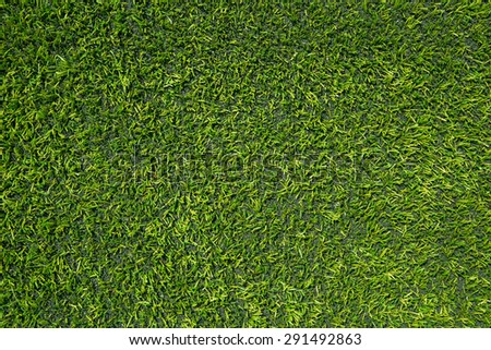 artificial green grass , turf background