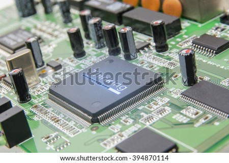 Artificial intelligence - stock photo