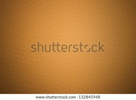 artificial leather light brown close-up