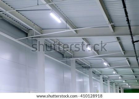 Artificial lighting - stock photo