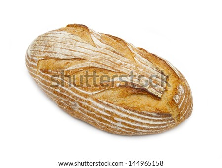 Artisan Bread Loaf - stock photo