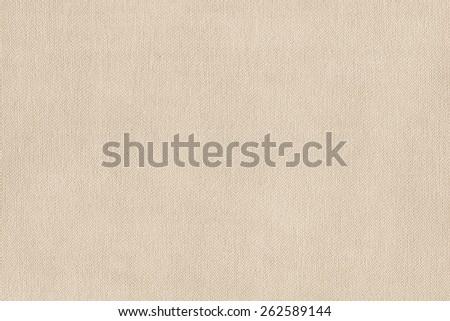 Artist Primed Cotton Duck Canvas, coarse grain grunge texture. - stock photo