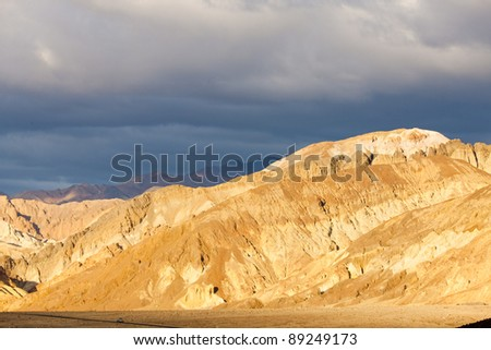 Artist's Drive, Death Valley National Park, California, USA