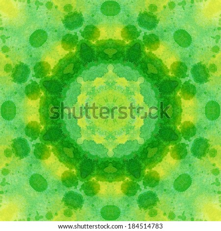 Artistic background, seamless abstract pattern, watercolor hand painting