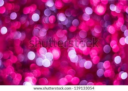 Artistic bokeh background. Soft defocused lights - stock photo