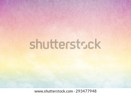 artistic cloud and sky abstract background with grunge  texture - stock photo