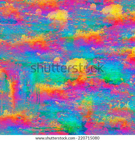 Artistic color splash background with grunge style concept - stock photo