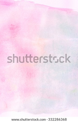 Artistic painted watercolour background  - stock photo