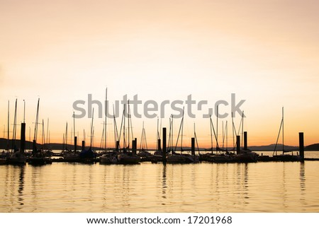 artistic view of pier - tobacco filter - stock photo