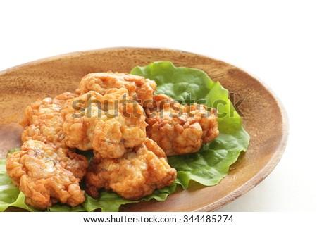 Asain food ingredient, fish cake - stock photo