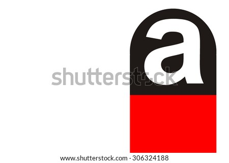 asbsteos symbol - stock photo