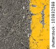 asfalt texture background. - stock photo