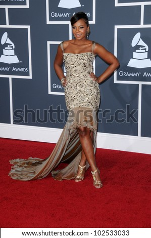Ashanti at the 52nd Annual Grammy Awards - Arrivals, Staples Center, Los Angeles, CA. 01-31-10