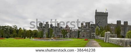 Ashford panoramic - stock photo
