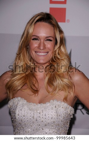 Ashlan Gorse at the NBC/Universal/Focus Features Golden Globes Party, Beverly Hilton Hotel, Beverly Hills, CA 01-15-12