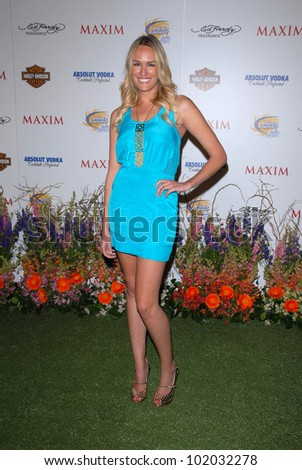 "Ashlan Gorse  at the 11th Annual MAXIM ""HOT 100"" Party, Paramount Studios, Hollywood, CA. 05-19-10"