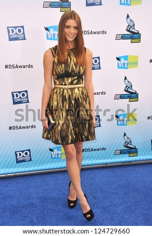 Ashley Greene at the 2012 Do Something Awards at Barker Hangar. Santa Monica Airport. August 19, 2012  Santa Monica, CA Picture: Paul Smith - stock photo
