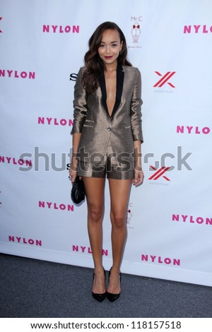 Ashley Madekwe at Nylon's September TV Issue Party, Mr. C, Beverly Hills, CA 09-15-12 - stock photo