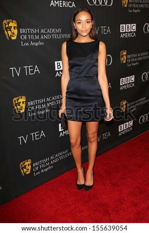 Ashley Madekwe at the BAFTA Los Angeles TV Tea 2013, SLS Hotel, Beverly Hills, CA 09-21-13 - stock photo