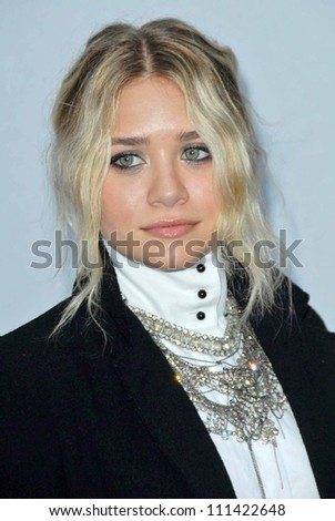 Ashley Olsen at the 2007/2008 Chanel Cruise Show Presented by Karl Lagerfeld. Hanger 8, Santa Monica, CA. 05-18-07 - stock photo