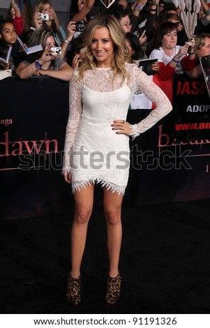 "Ashley Tisdale at ""The Twilight Saga: Breaking Dawn - Part 1"" Los Angeles Premiere, Nokia Theatre L.A. Live, Los Angeles, CA 11-14-11"
