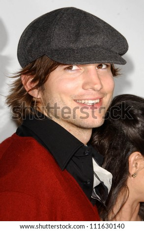 Ashton Kutcher at a party celebrating the books written by Laura Day. One Sunset, West Hollywood, CA. 06-19-07 - stock photo