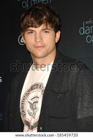 Ashton Kutcher at THE DARKER SIDE OF GREEN Debate, Palihouse Holloway, West Hollywood, CA July 8, 2010 - stock photo