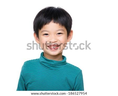 Asia child - stock photo