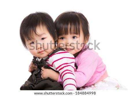 Asia sisterhood - stock photo