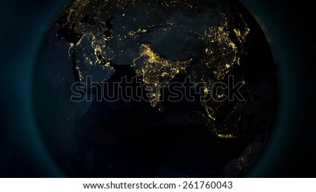 Asia World View from space (with the help of NASA)