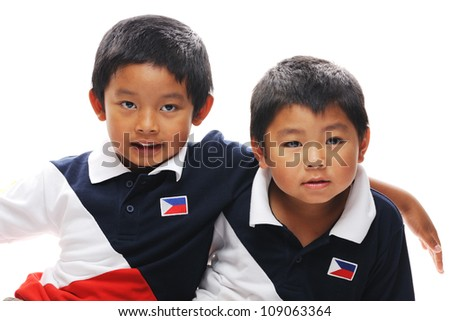 Asian brothers from the philippines