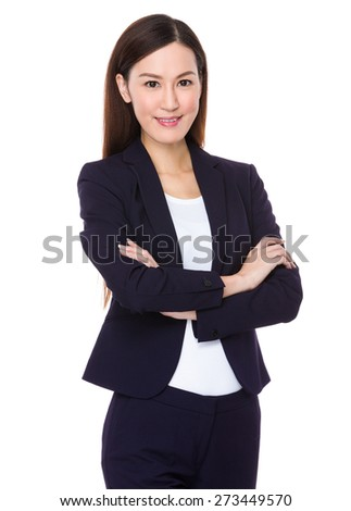 Asian business executive - stock photo
