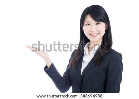 An Asian Woman Explaining To 25