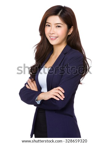 Asian businesswoman - stock photo