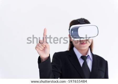 Female Fingers Typing On Keyboard Office Stock Photo ...