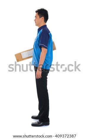 asian delivery male