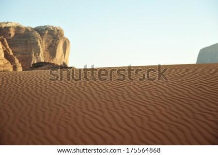 Asian Desert - stock photo
