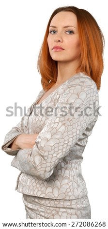 Asian Ethnicity. Asian Business Woman - Close Up - stock photo