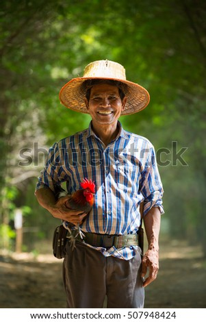 rattan chinese hat hand holding his hat stock images royalty free images vectors