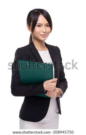 Asian female teacher - stock photo