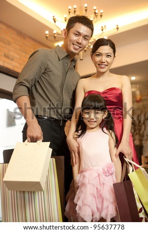 Asian Lifestyle Shopping - stock photo