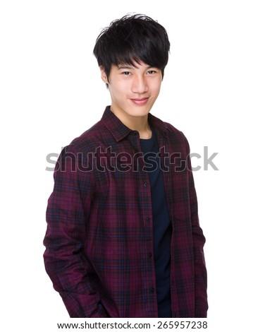 Asian man  - stock photo