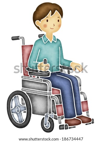 Apologise, but, Asian power wheelchair casually, not