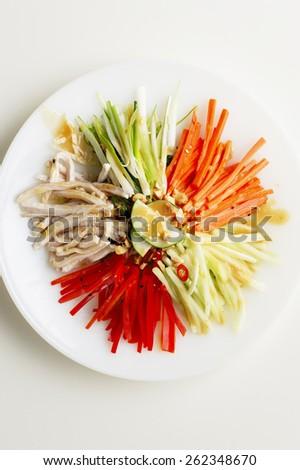 Asian Salad - stock photo