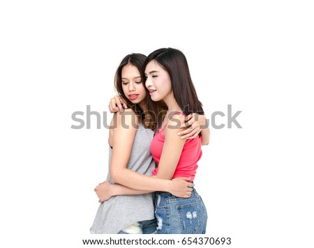Lesbian girl asian — photo 13