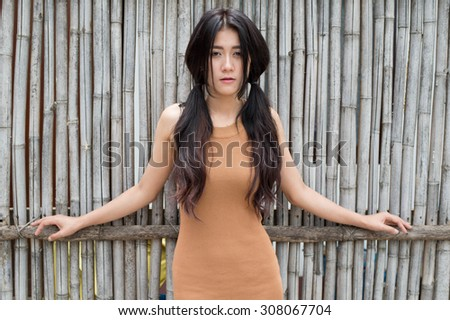 Asian women lifestyle and mood