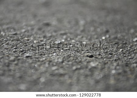 asphalt as abstract blur background - stock photo